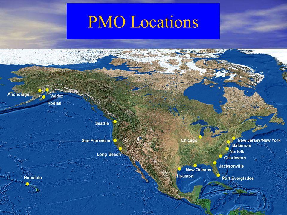 PMO Locations