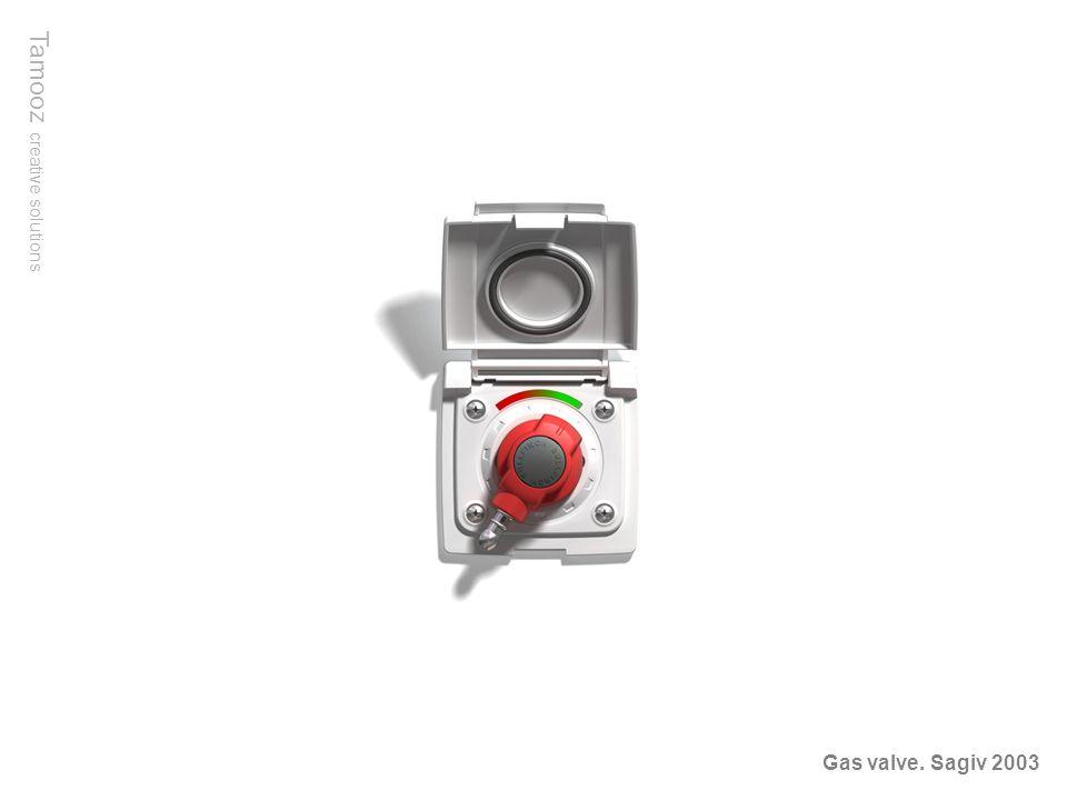 Tamooz creative solutions Gas valve. Sagiv 2003