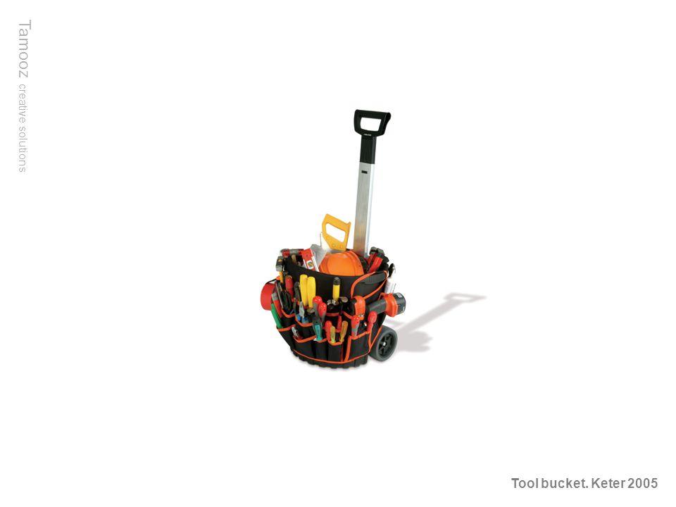Tamooz creative solutions Tool bucket. Keter 2005