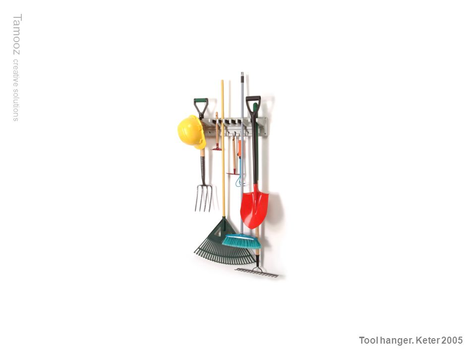 Tamooz creative solutions Tool hanger. Keter 2005