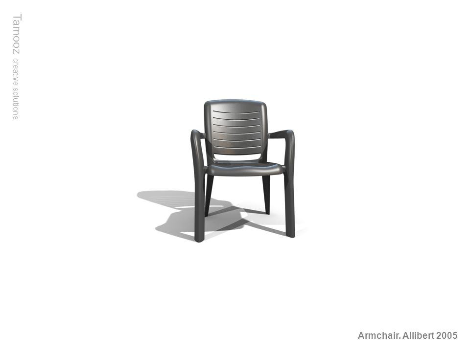 Tamooz creative solutions Armchair. Allibert 2005