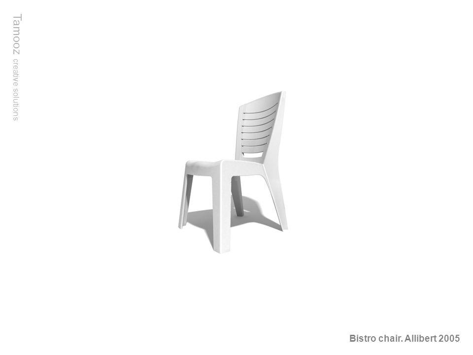 Tamooz creative solutions Bistro chair. Allibert 2005