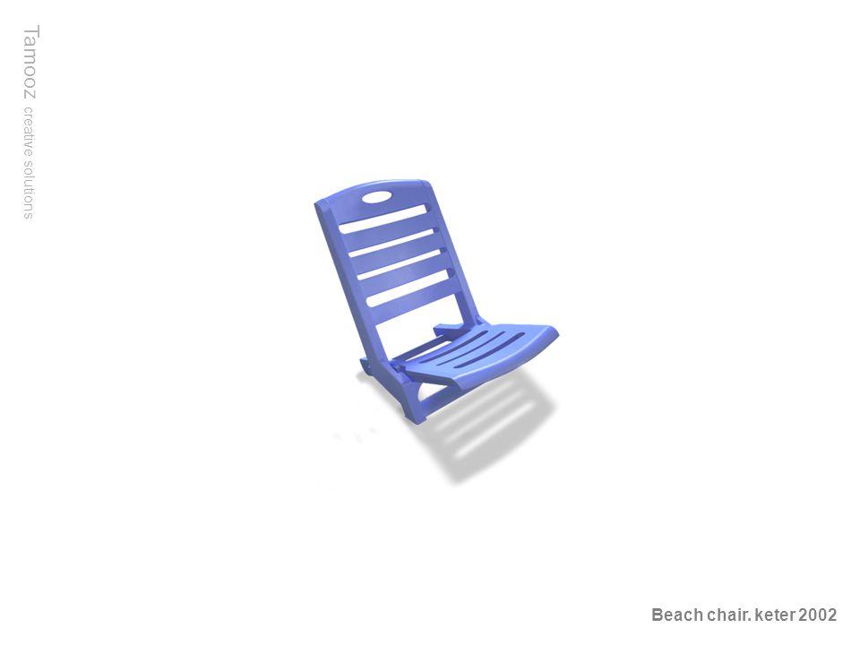 Tamooz creative solutions Beach chair. keter 2002