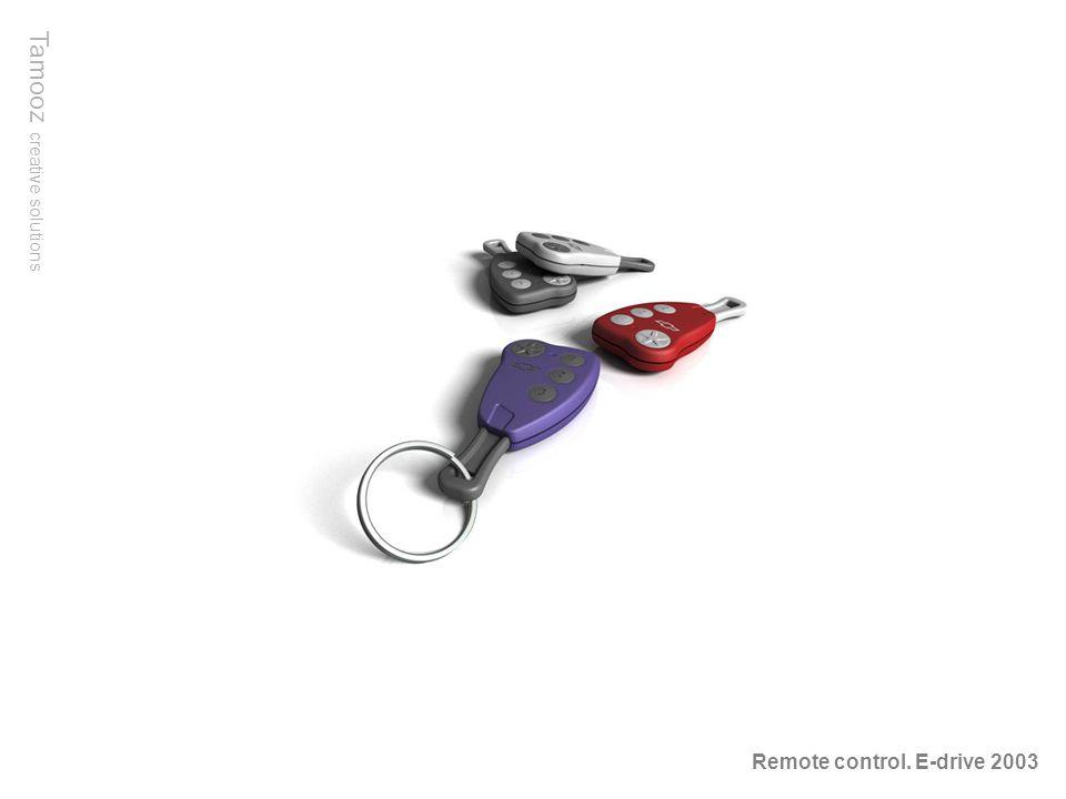 Tamooz creative solutions Remote control. E-drive 2003