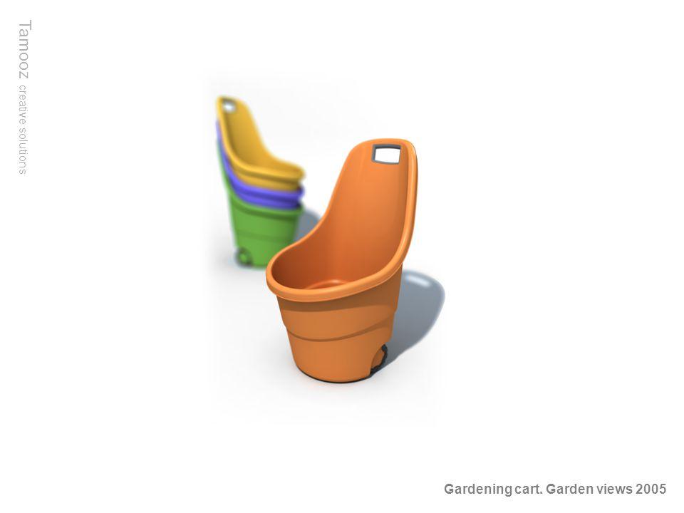 Tamooz creative solutions Gardening cart. Garden views 2005