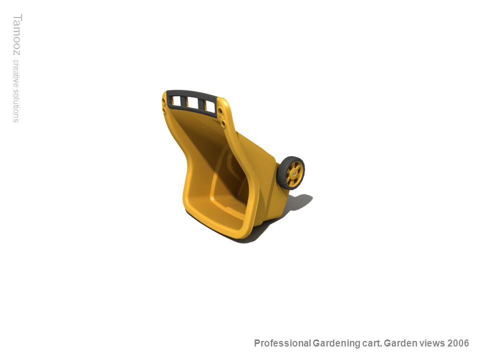 Tamooz creative solutions Professional Gardening cart. Garden views 2006