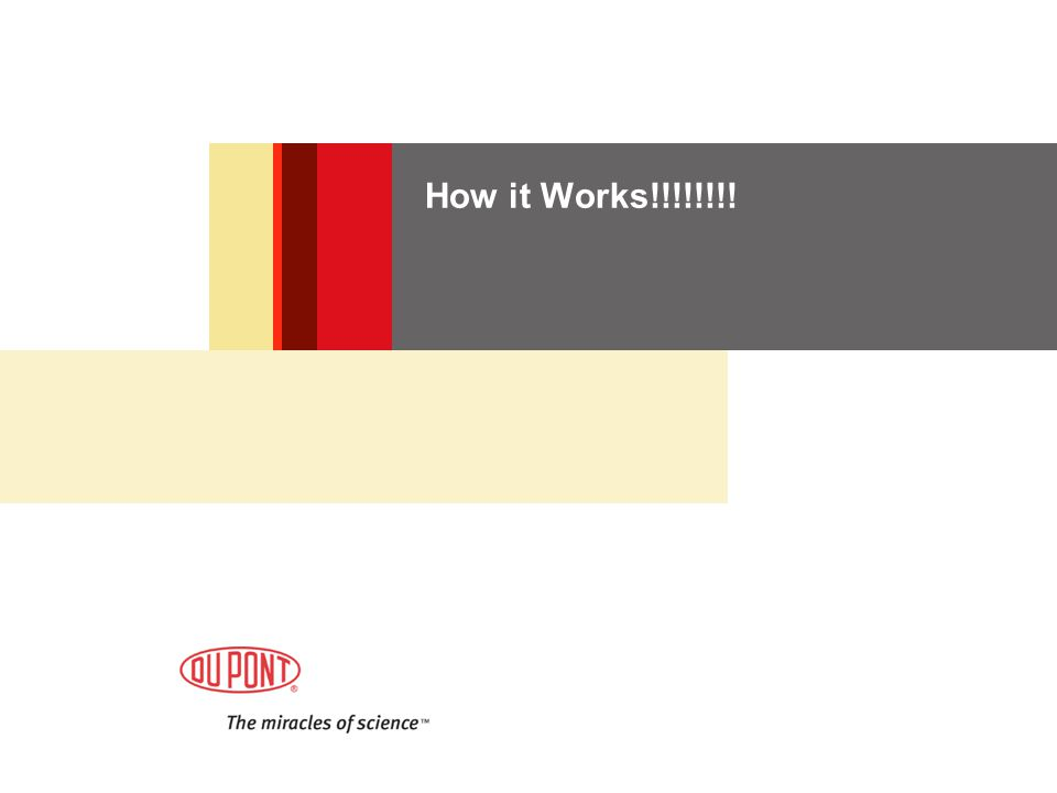 How it Works!!!!!!!!