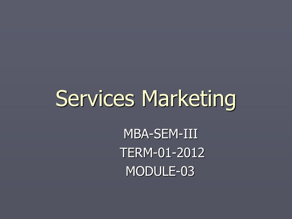 Learning Objectives ► To understand that effective pricing is central to financial success ► To understand the relationship between price and customer costs ► To understand value strategies for services pricing ► To understand the principle of revenue management