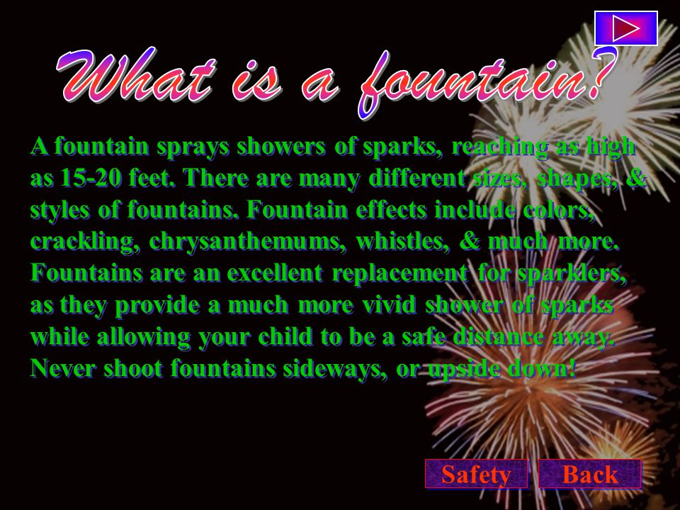 4.Fireworks are for adult use, or close adult supervision.