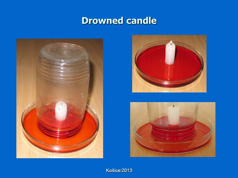 Košice 2013 Drowned candle