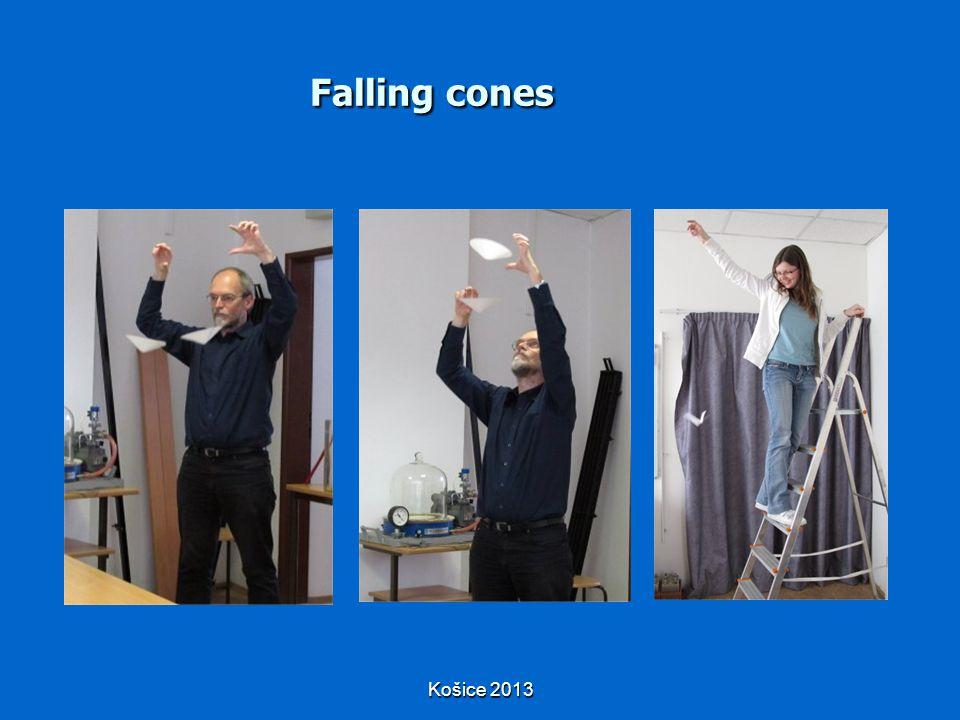 Košice 2013 Falling cones