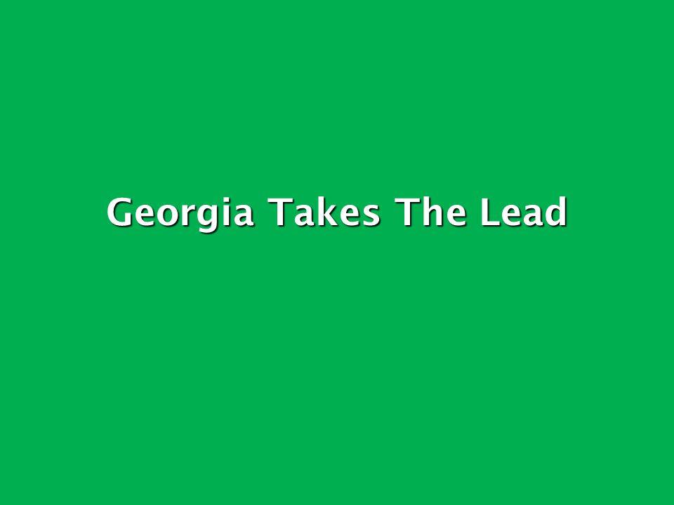 Georgia Takes The Lead