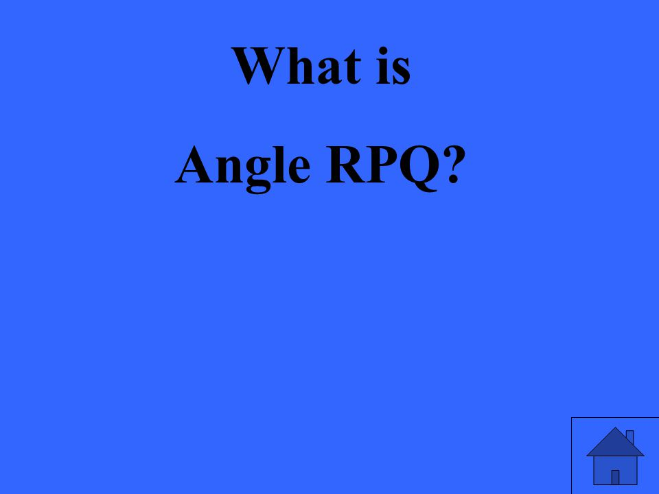 What is Angle RPQ