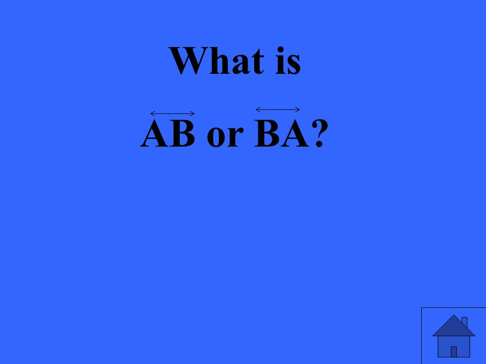 What is AB or BA