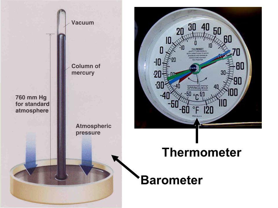 Barometer Thermometer