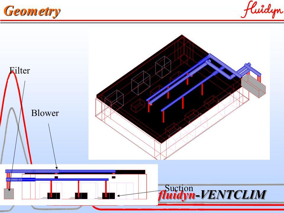 fluidyn-VENTCLIM Geometry Suction Blower Filter