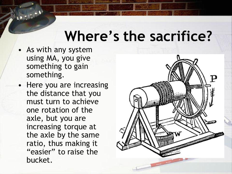 Where's the sacrifice. As with any system using MA, you give something to gain something.