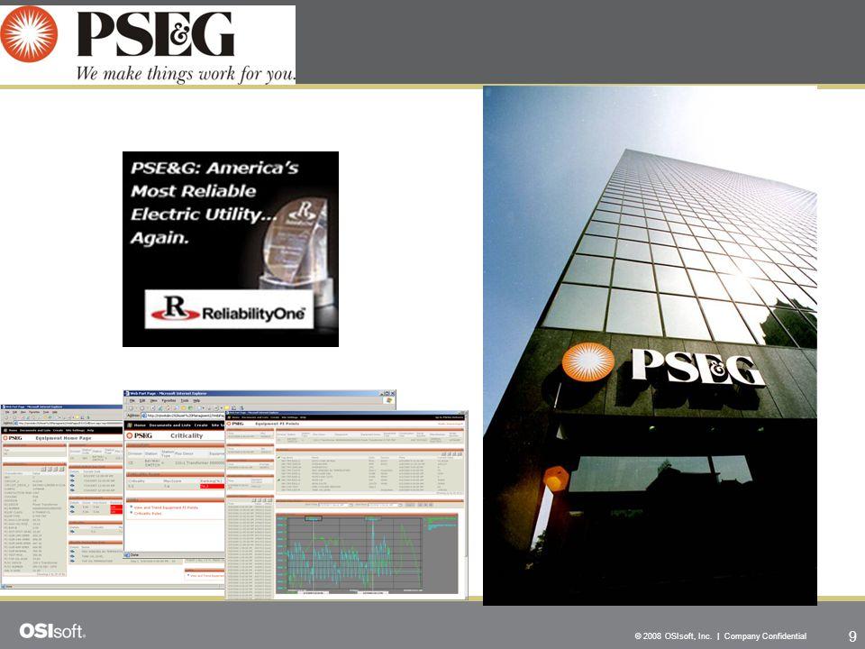 9 © 2008 OSIsoft, Inc. | Company Confidential