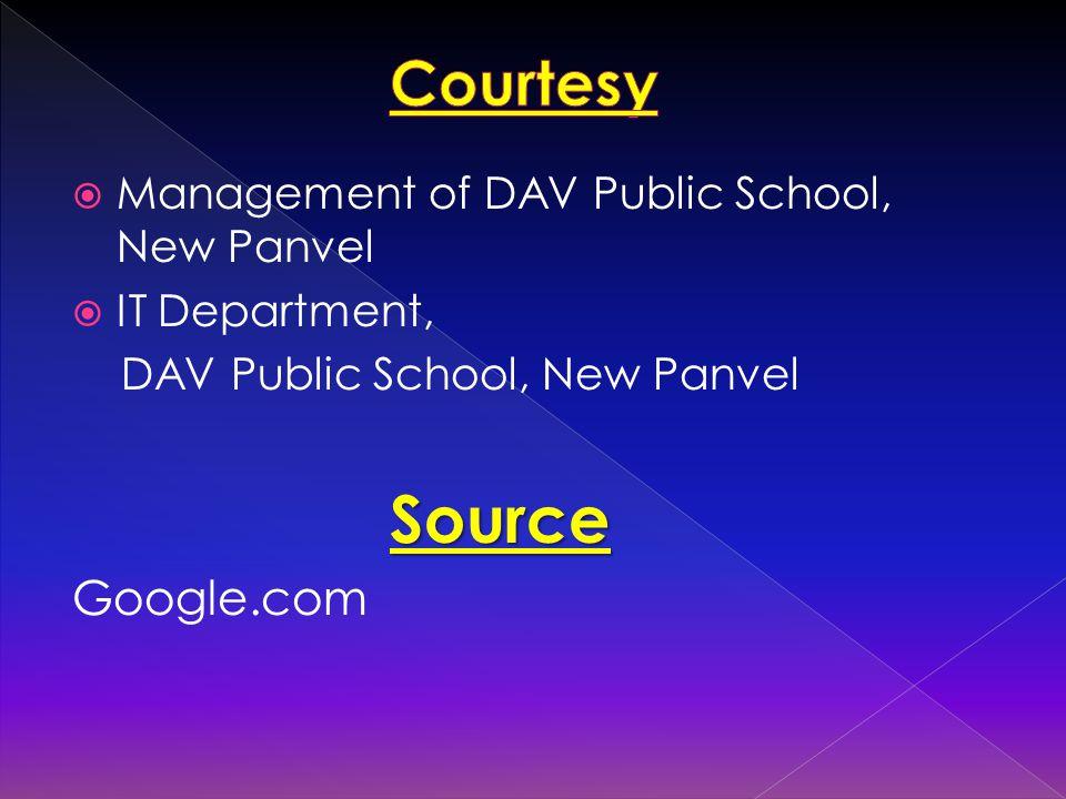  Management of DAV Public School, New Panvel  IT Department, DAV Public School, New Panvel Source Google.com
