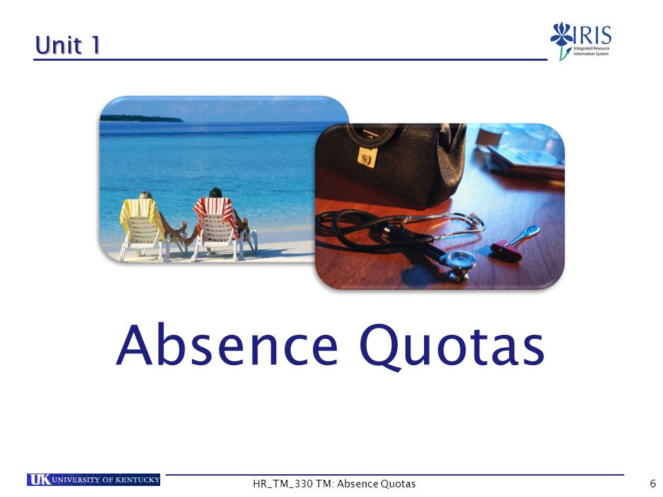PT_QTA10/Absence Quota Information (Con't) To display only usable quota, you can filter out expired time.