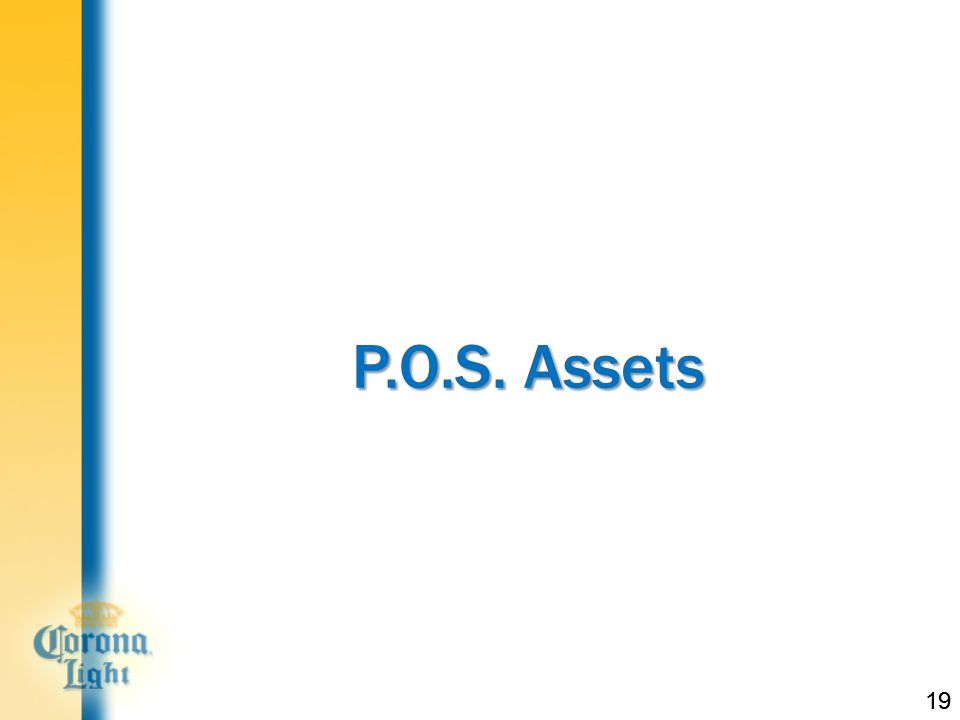 19 P.O.S. Assets 19