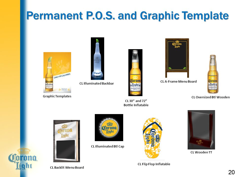 20 Permanent P.O.S.