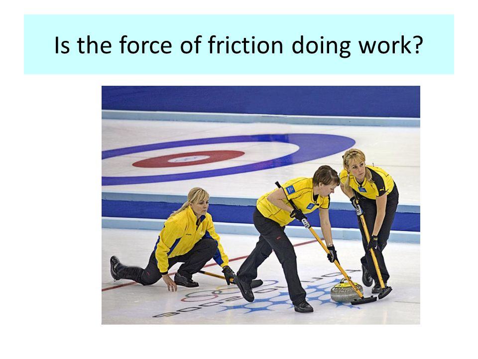 Is the force of friction doing work?