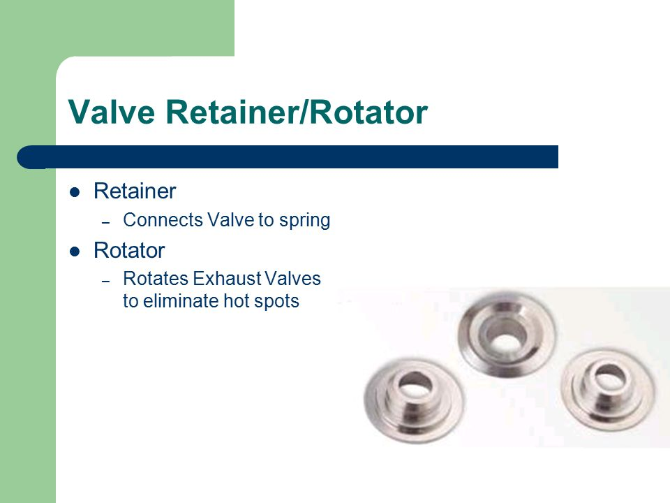 Valve Spring Keepers Cone shaped wedges hold retainers to valves