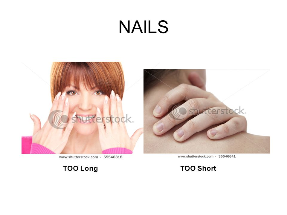 NAILS TOO LongTOO Short