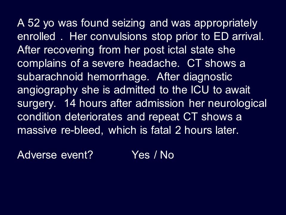 Write good SAE narratives Be concise but complete Include only the pertinent PMH and HPI Describe the event Describe the response Describe the outcome And say when each of those happened Look for and respond to queries promptly