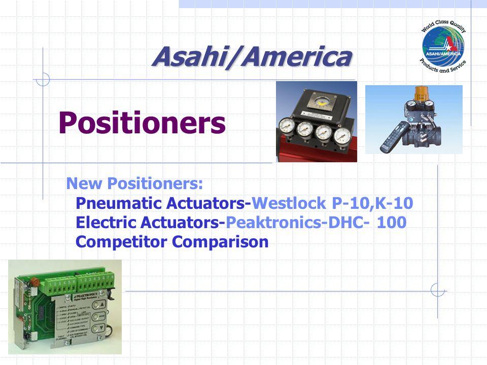 Positioner Actuator Valve  Sensor Set Point Controller 4-20 ma Asahi/America Automated Control Loop