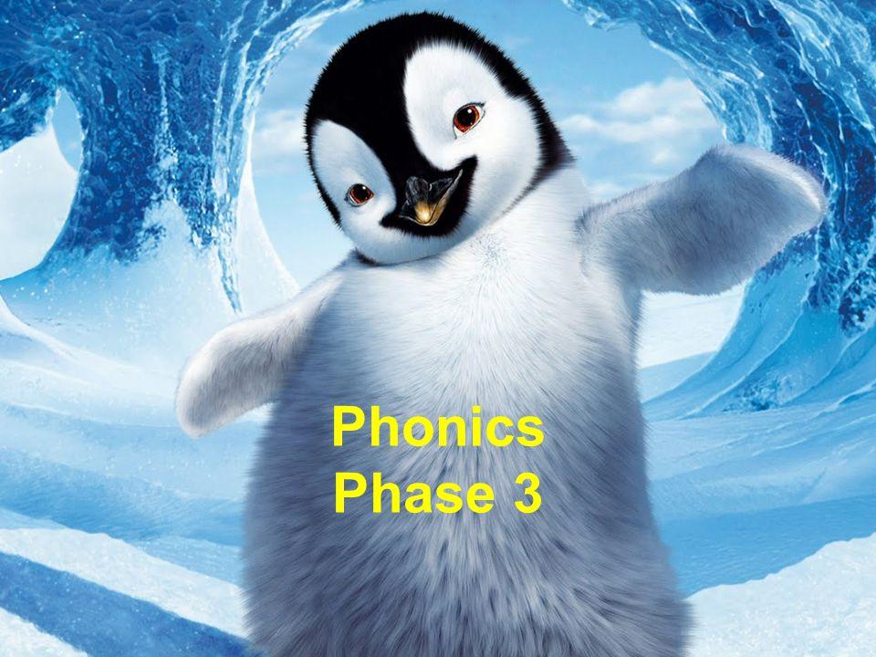 Phonics Phase 3