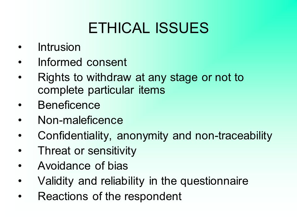 OPEN-ENDED QUESTIONS Enable authentic responses; More time-consuming and difficult to analyze/process.