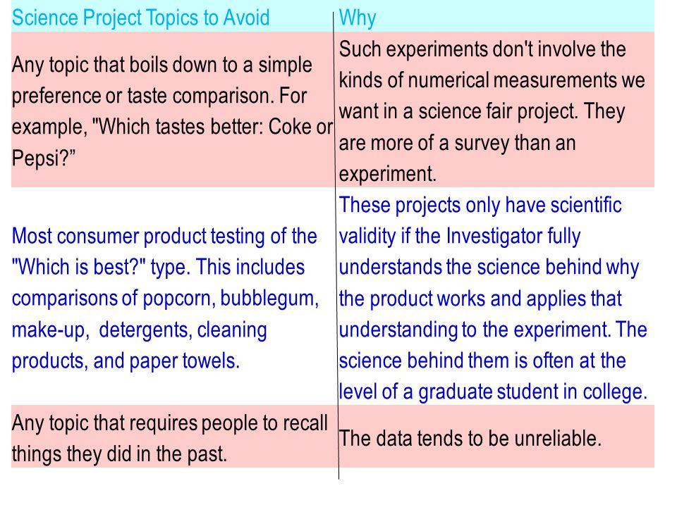What Makes a Good Experimental Procedure.