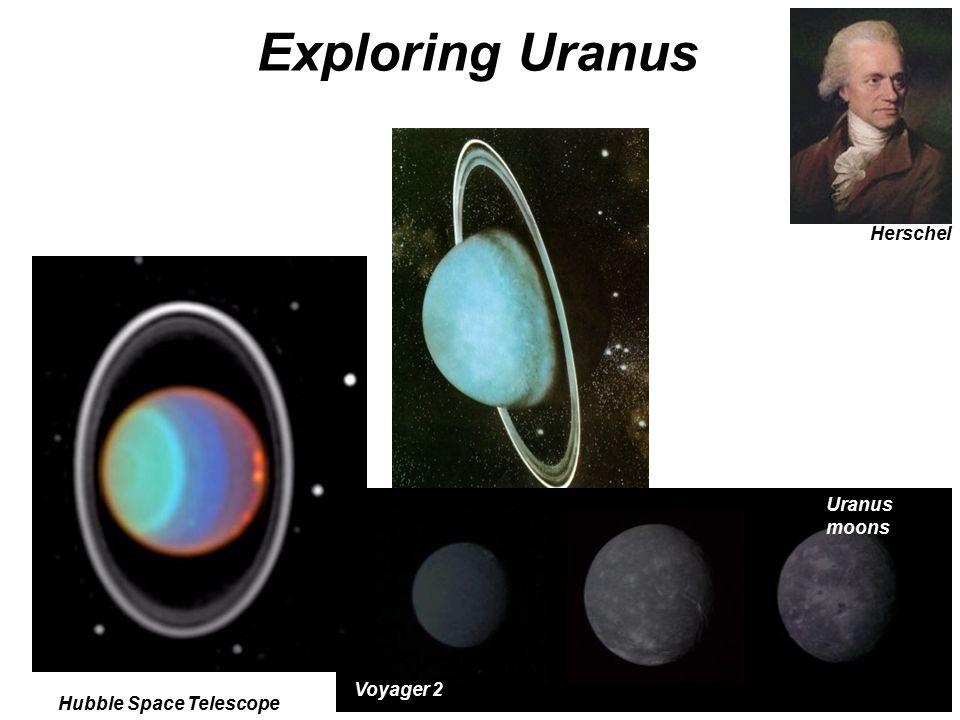 Exploring Uranus Herschel Uranus moons Voyager 2 Hubble Space Telescope