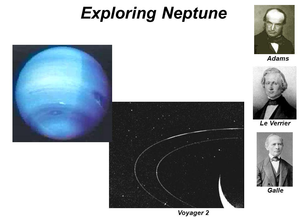 Exploring Neptune Adams Le Verrier Galle Voyager 2