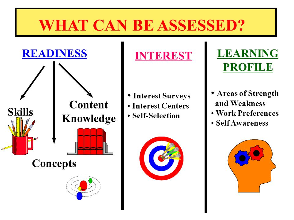 Meyer Academy Professional Development Assessment & Differentiated Instruction, Part 2 March 19, 2012