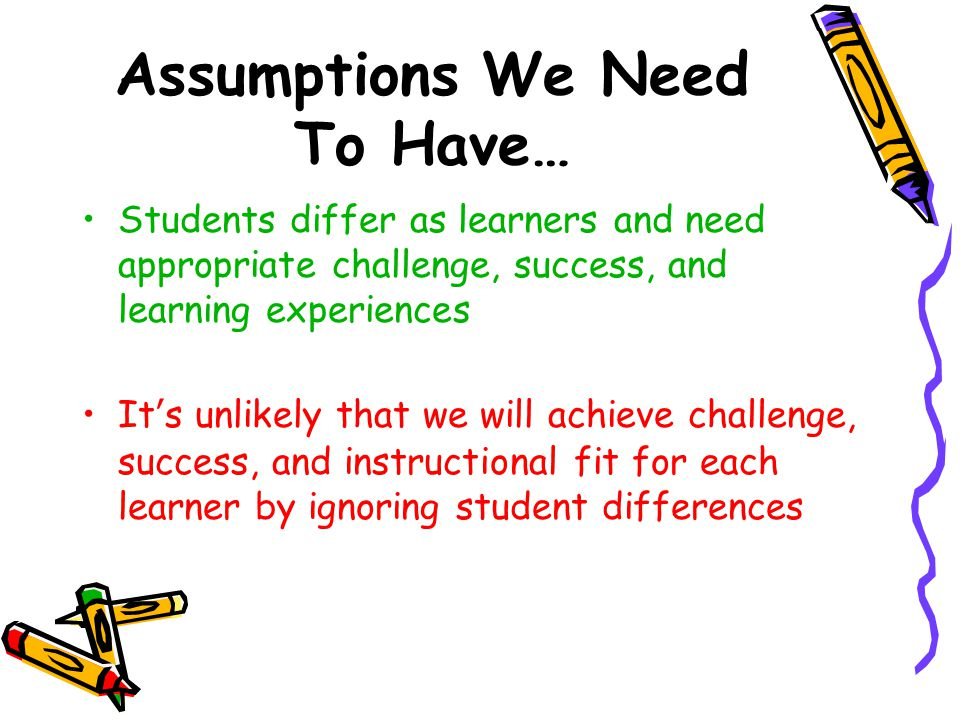Key Principles of a Differentiated Classroom