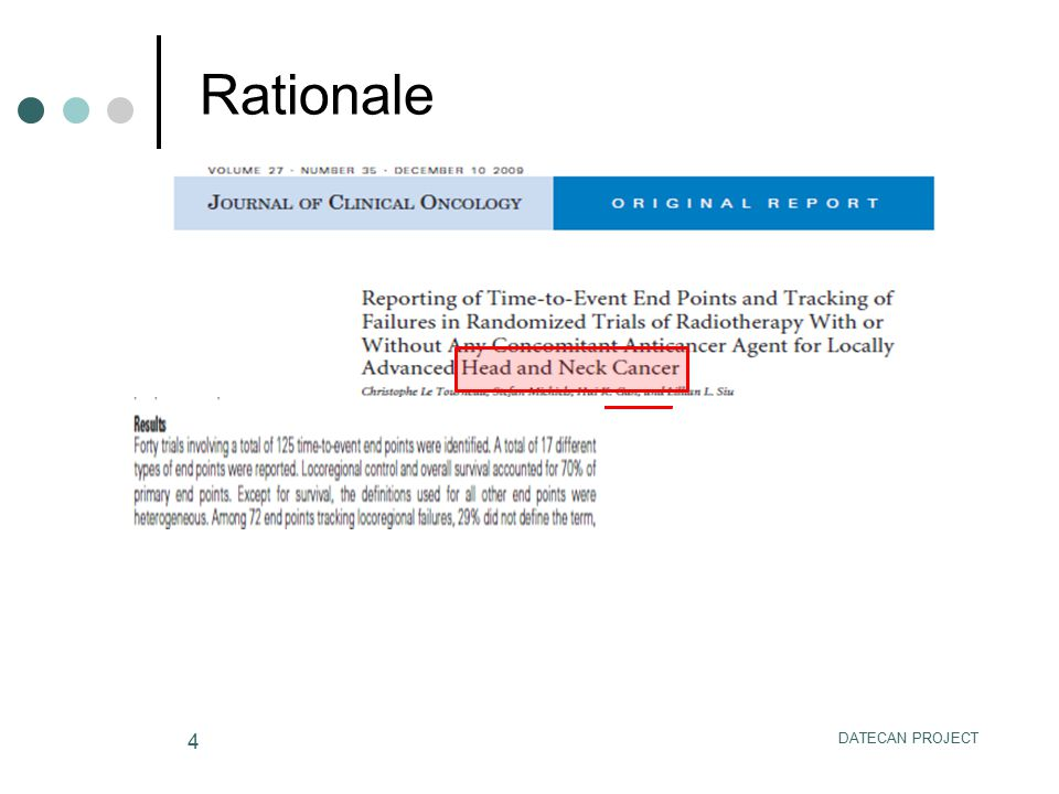 DATECAN PROJECT 4 Rationale