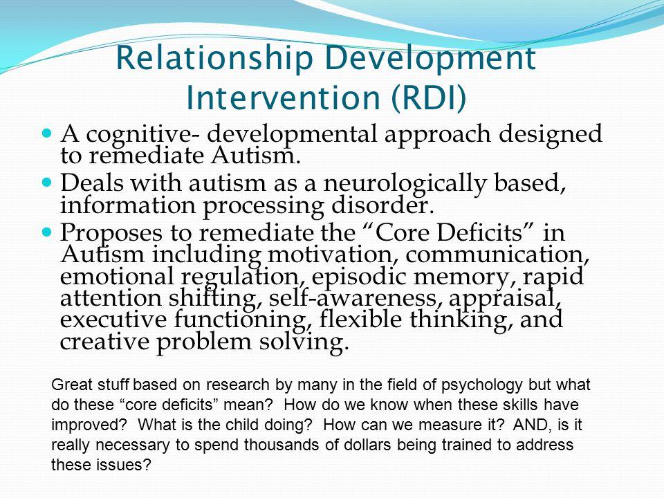 Hanen Method Teaching communication and play skills through adult- child interactions.