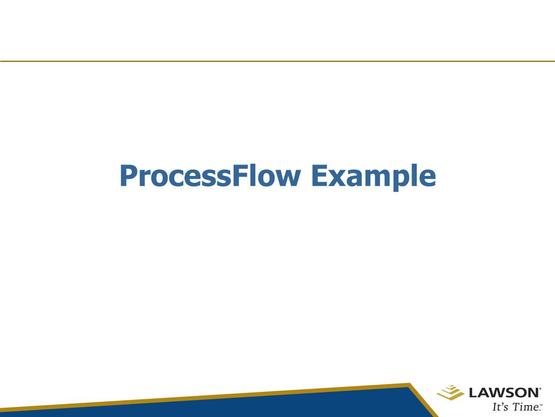 ProcessFlow Example