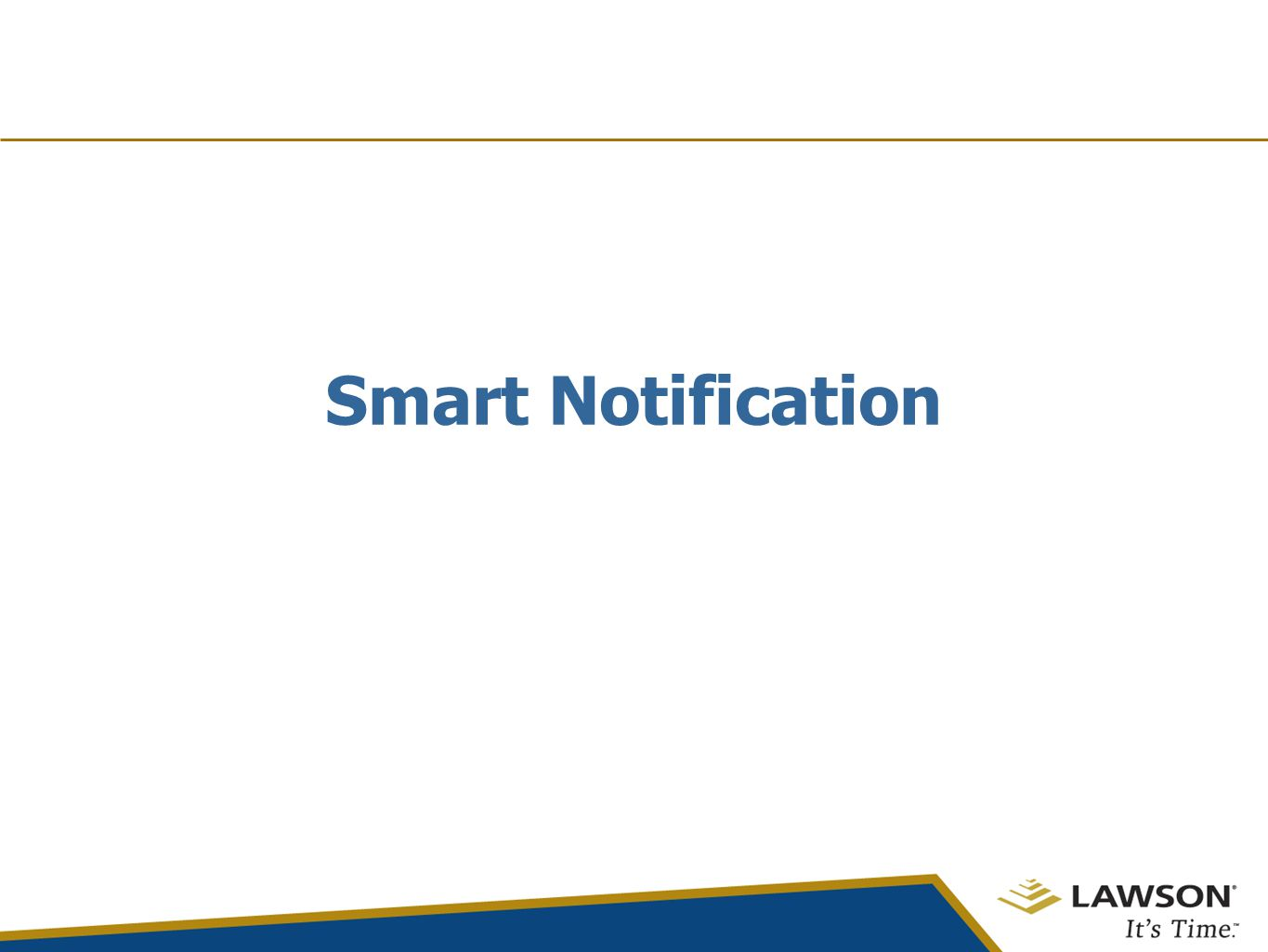 Smart Notification