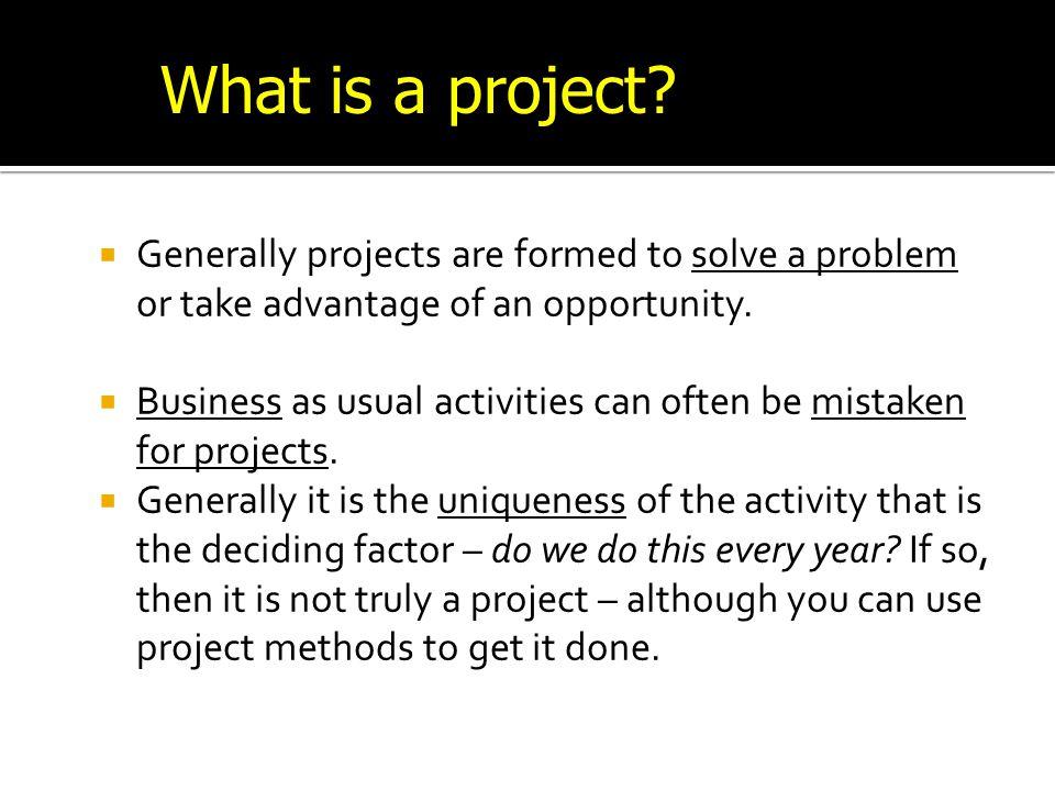 Project Management Demo