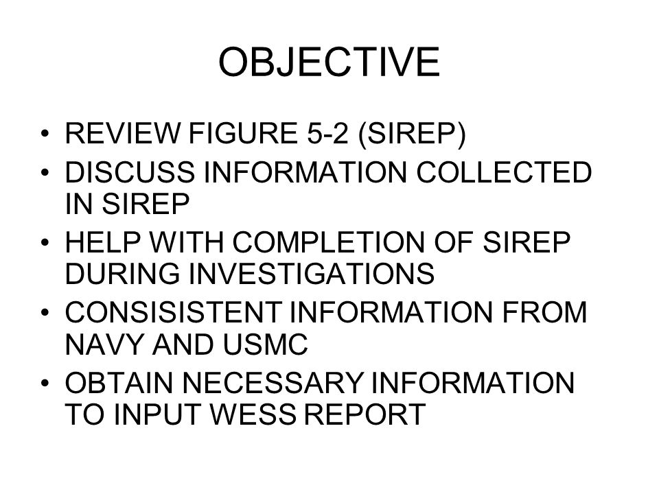 FIGURE 5-2 (PART A) – INJURED PERSONNEL INJURY/ OCCUPATIONAL ILLNESS INFORMATION: (Complete all that apply) 1.