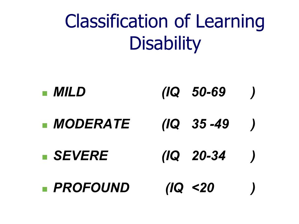 Nationally it is estimated 2-3% of the population have a learning disability.