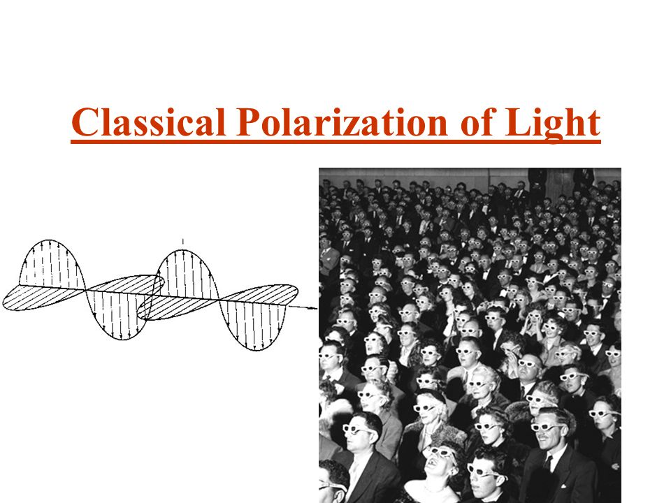 Classical Polarization of Light