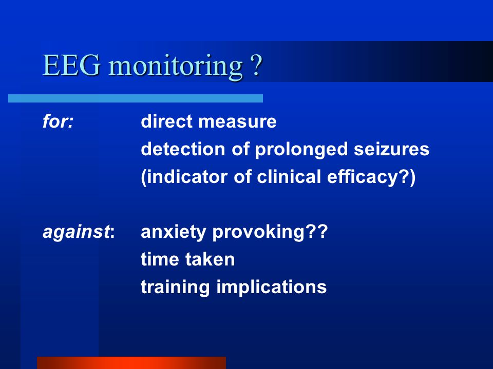 EEG monitoring .