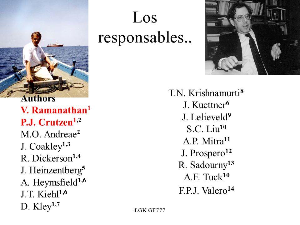 LGK GF777 Los responsables.. T.N. Krishnamurti 8 J.
