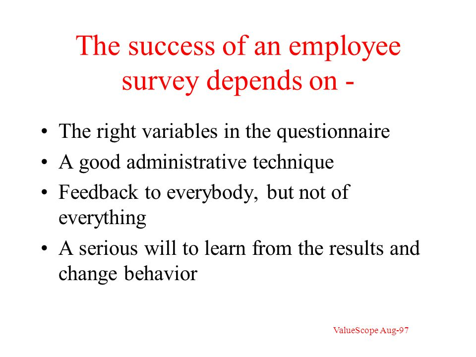 Sample question to executives You are to make a short speech to outsiders about your company.