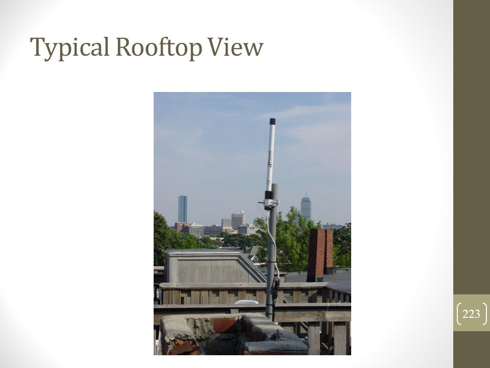 Typical Rooftop View 223